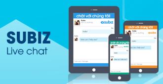 Ứng dụng Subiz Live Chat