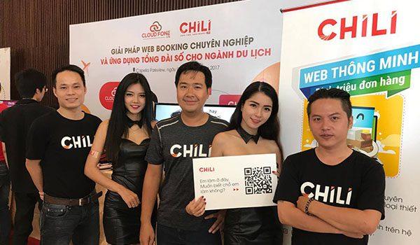 Chili Ra Mắt Website Booking Online Tại Ngày Du Lịch Trực Tuyến 2017