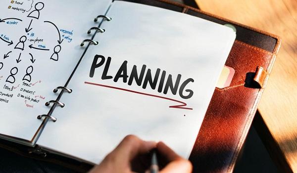 Lên kế hoạch trước khi thiết kế website