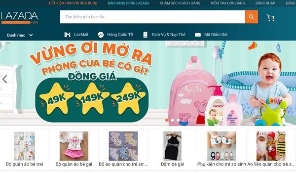 thiết kế web bán hàng online