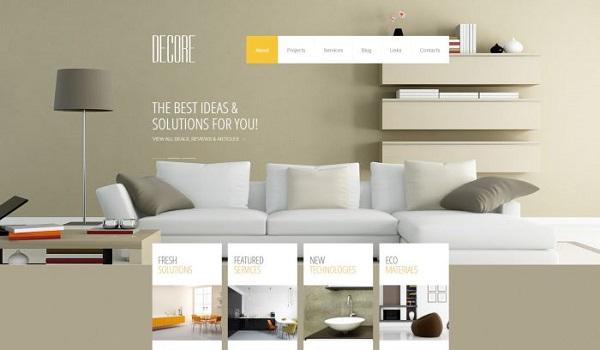 thiết kế web showroom