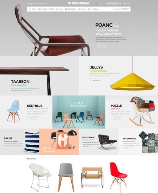 Web showroom nội thất giúp khách hàng dễ dàng tham khảo nhiều sản phẩm ngay tại nhà