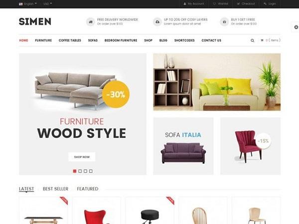 Mẫu thiết kế website nội thất đẹp có thể không khiến bạn mất nhiều chi phí