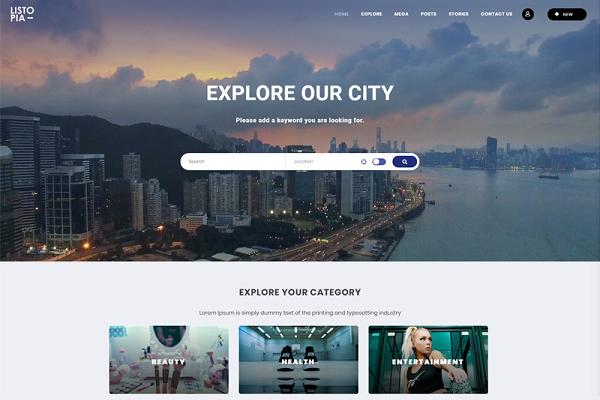 Listopia giúp tiết kiệm đáng kể thời gian thiết kế web