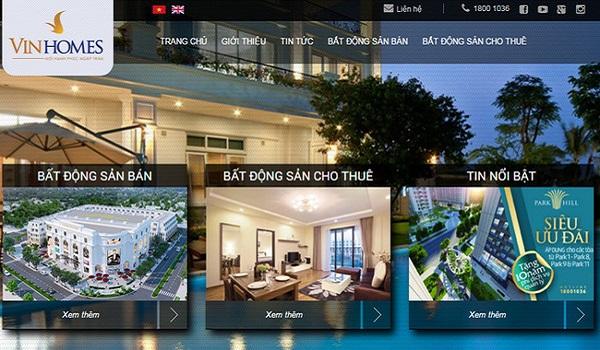Trên trang web bất động sản, không thể thiếu thông tin về bản đồ của những dự án bạn đang bán