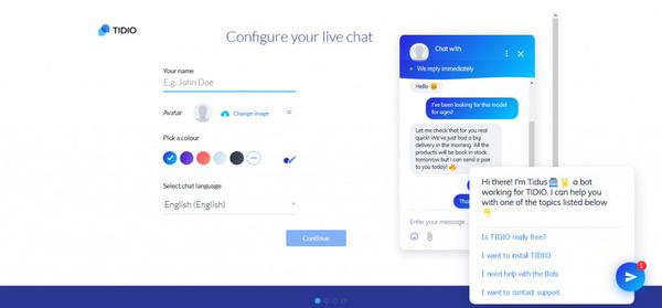 Các công cụ chat trực tiếp sẽ giúp bạn tương tác với khách hàng một cách hiệu quả hơn