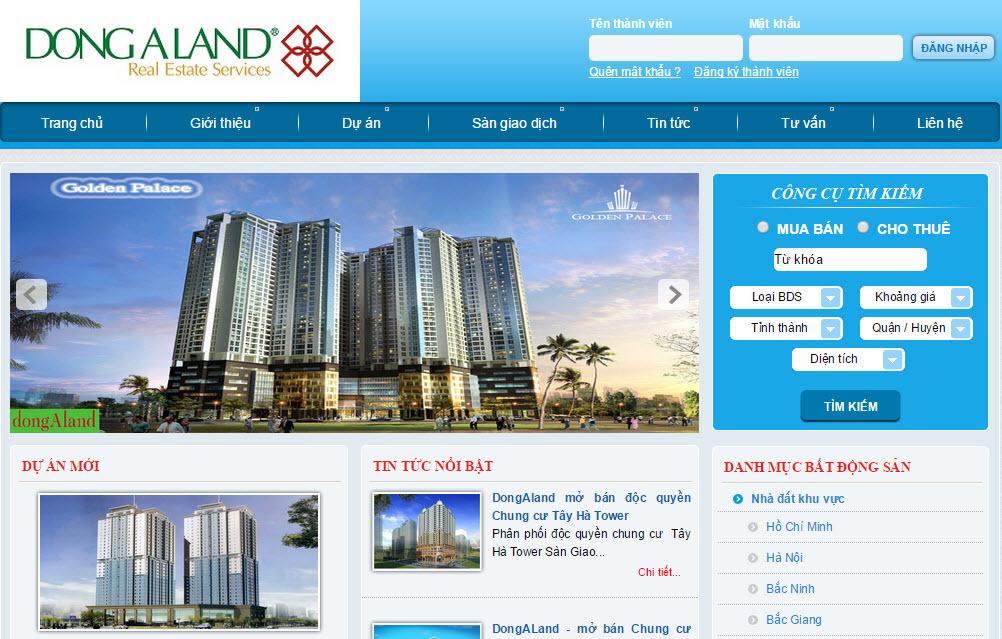 Muốn có một trang web bất động sản chuyên nghiệp, cần lưu ý về mặt nội dung