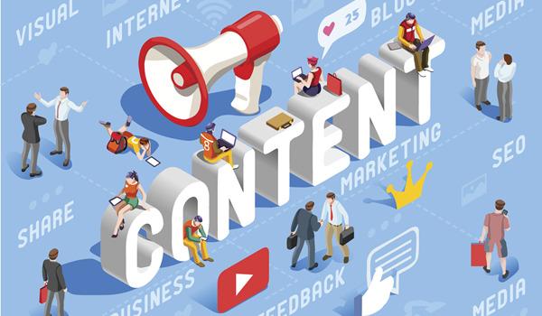 Nội dung trang web đóng vai trò quan trọng trong việc thu hút sự chú ý của khách hàng