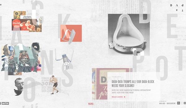 xu hướng thiết kế website
