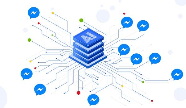 Chatbot dựa trên nền tảng AI và có thể gửi thông tin tới hàng loạt khách hàng.